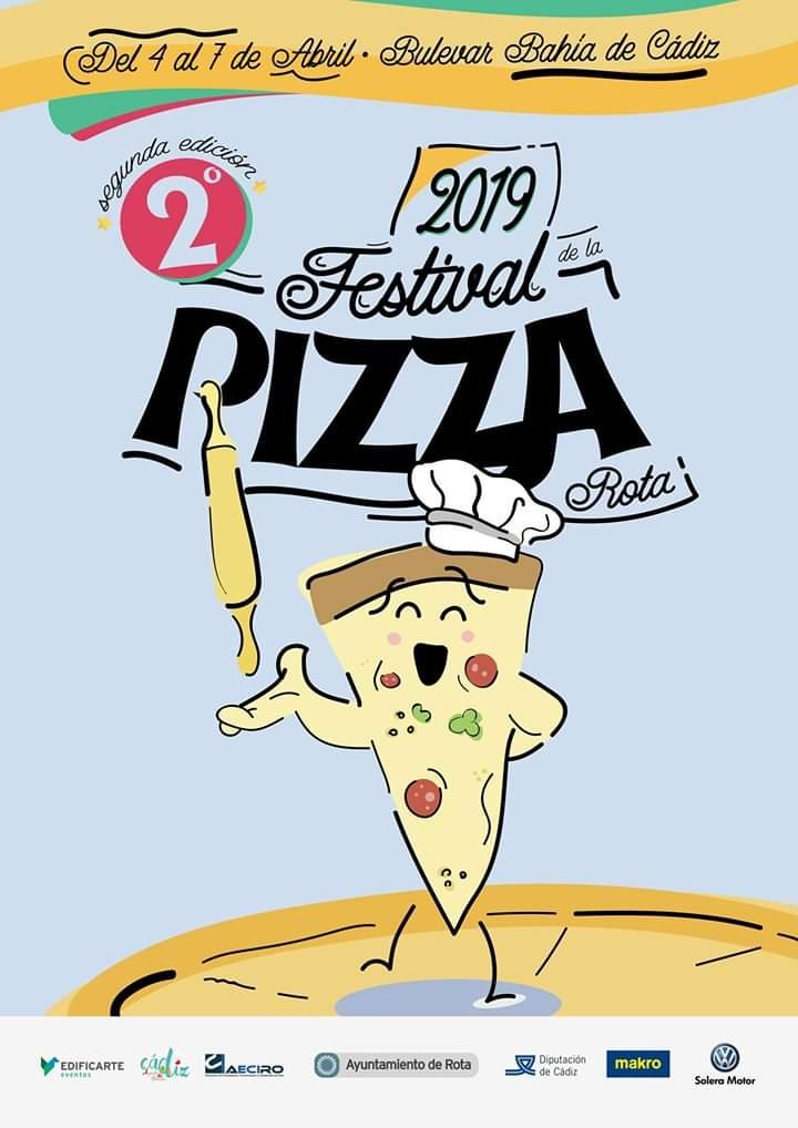 II Festival de la Pizza de Rota. Del 04 al 07 Abril de 2019.