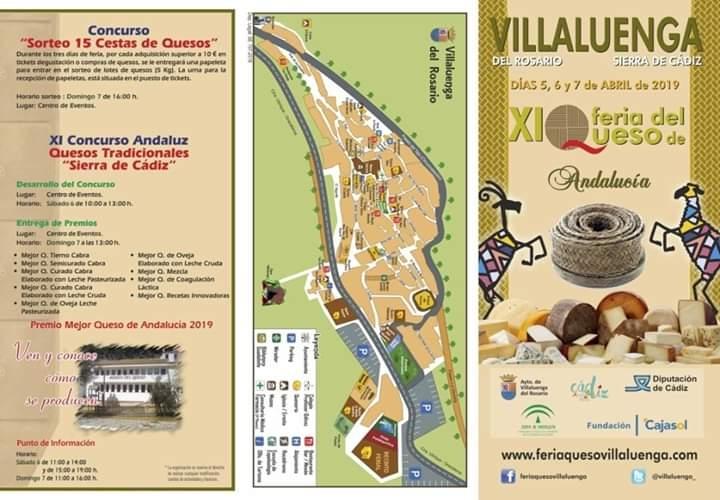 XI Feria del Queso de Villaluenga 05 al 07 Abril 2019 adondevoyconmifamilia