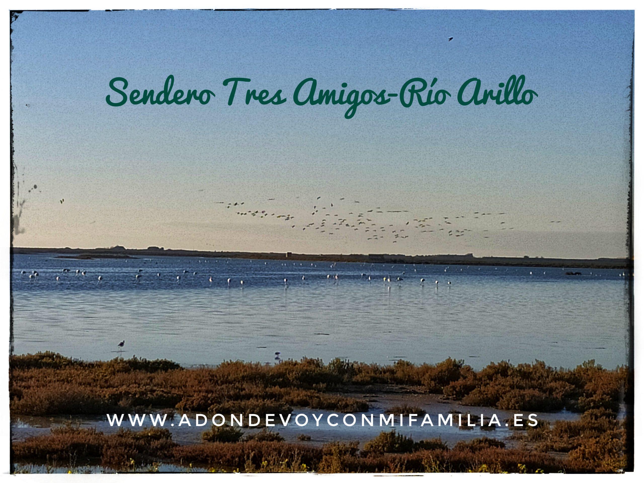 Sendero Tres amigos Río Arillo (San Fernando)