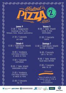 II Festival de la Pizza Rota, Del 04 al 07 de Abril 2019