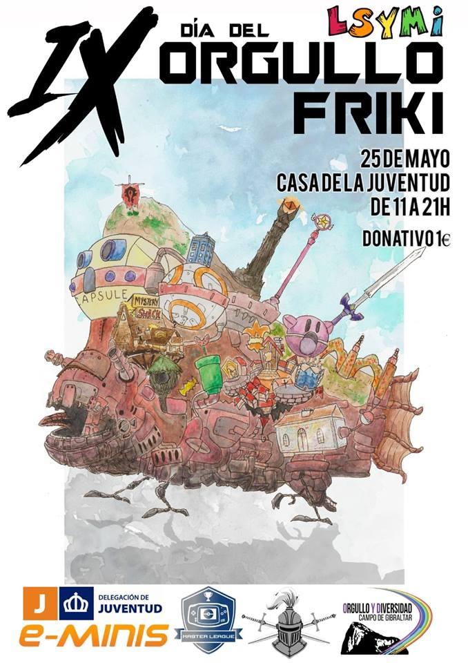 Del 24 al 25 de Mayo de 2019, XIV Día Friki Cádiz Cádiz niños planes niños