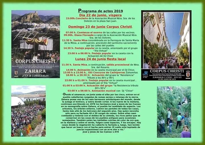 Corpus Christi 2019 Zahara de la Sierra