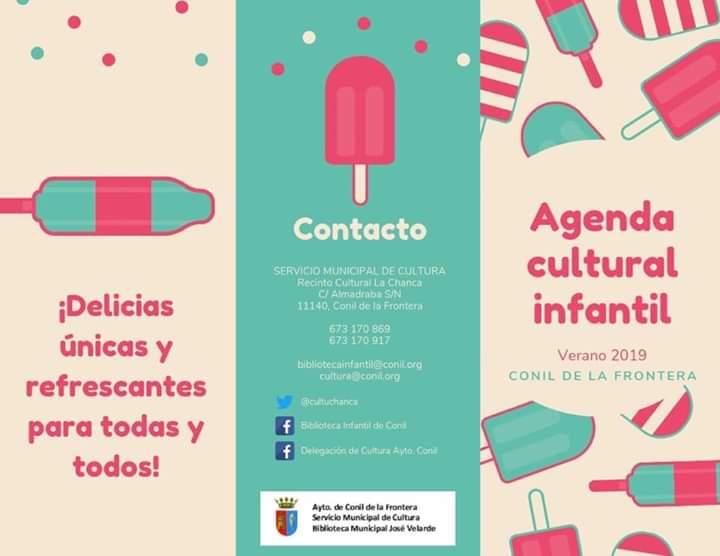 Agenda Cultural-Infantil Verano 2019 (Conil)