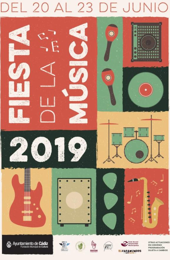 Festival de La Música Del 20 al 23 de Junio de 2019, Cádiz. Cádiz Niños adondevoyconmifamilia