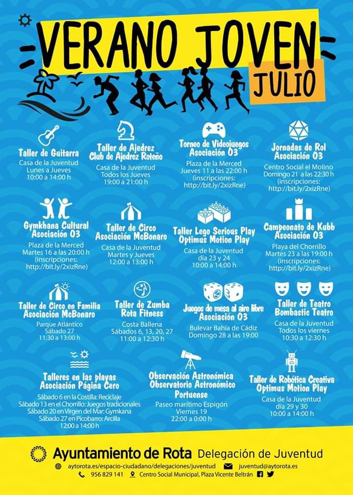 Verano Joven Julio 2019