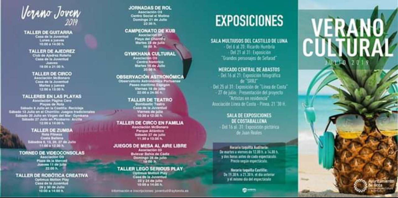 Agenda Verano 2019 (Rota)