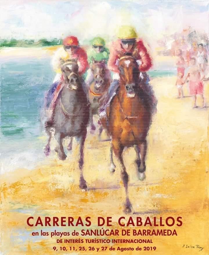 CARRERAS DE CABALLOS (SANLÚCAR DE BARRAMEDA) Del 25 al 27 de Agosto de 2019