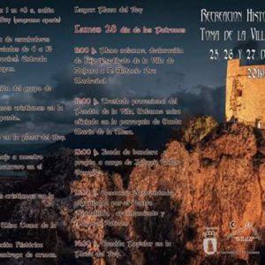 RECREACIÓN HISTÓRICA TOMA DE LA VILLA (ZÁHARA DE LA SIERRA) Del 25 al 27 de Octubre de 2019