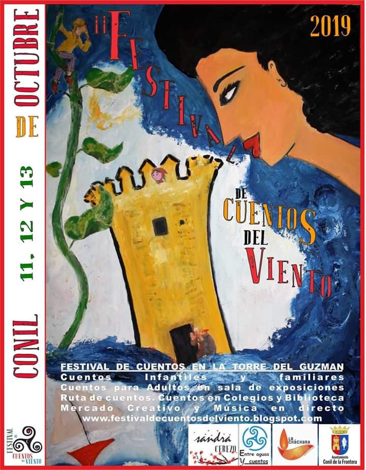 II Festival de Cuentos del Viento (Conil) Del 11 al 13 de Octubre de 2019