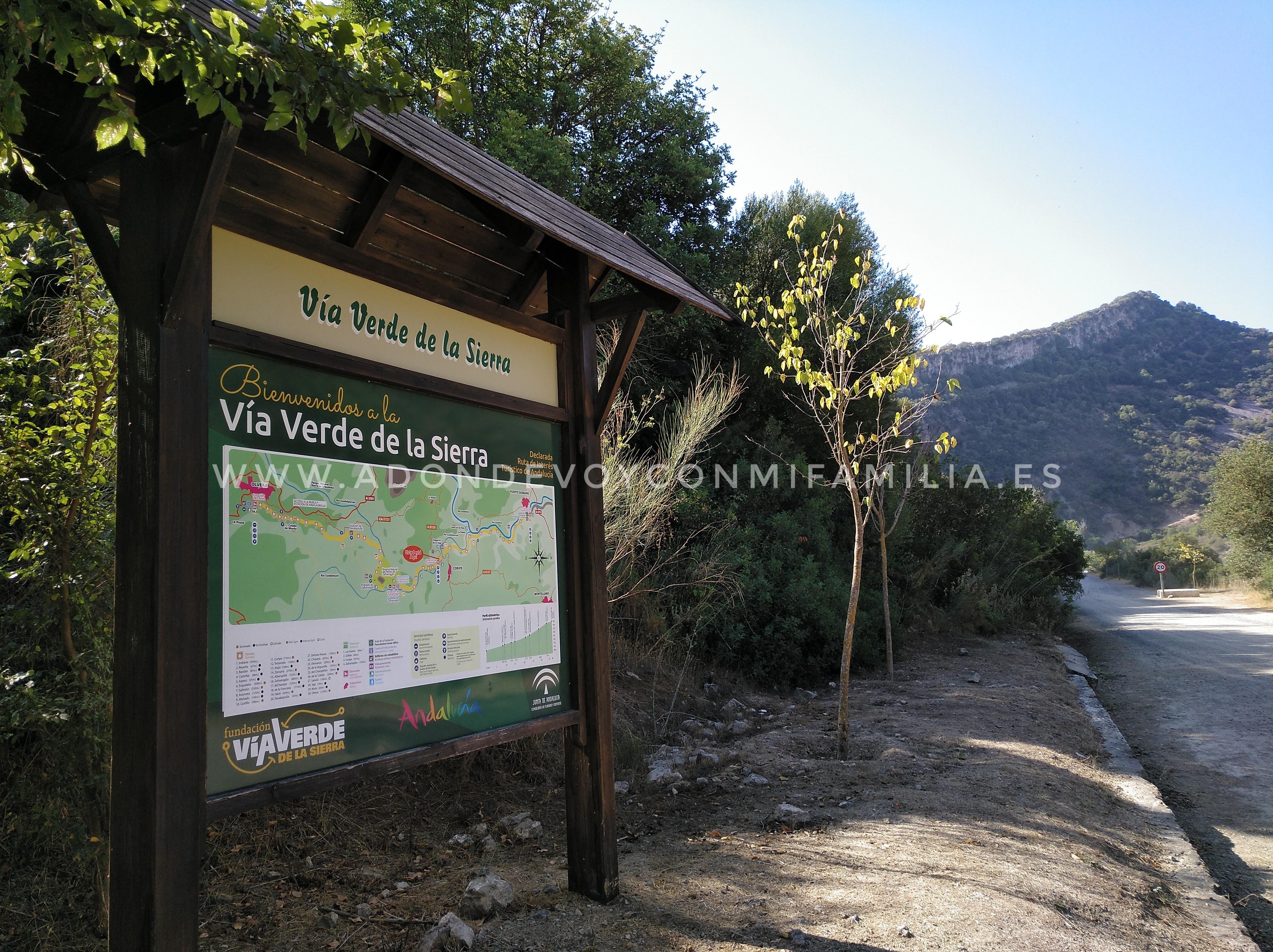 ESTACIÓN DE CORIPE   Vía Verde de la Sierra de CÁDIZ