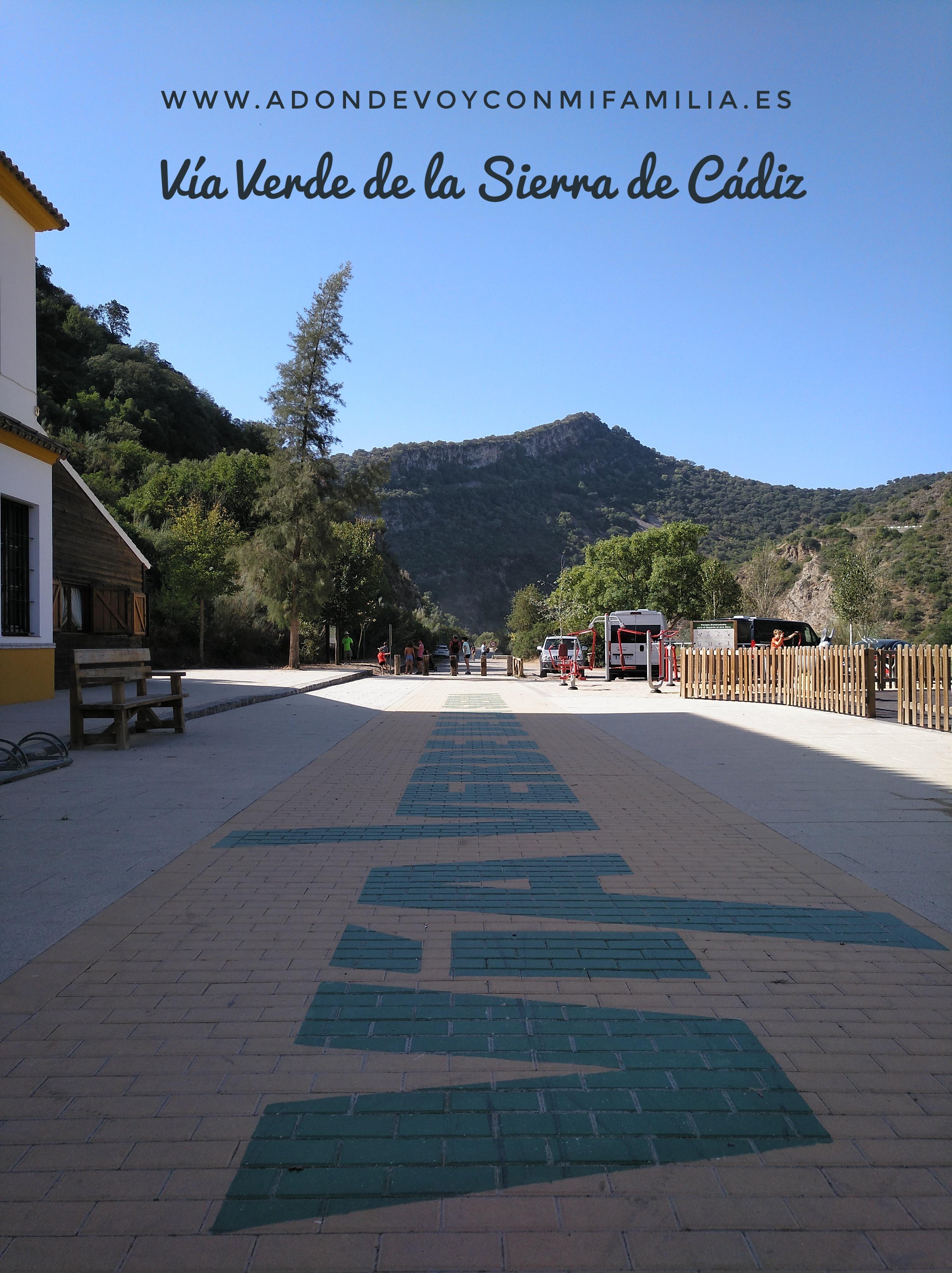 VÍA VERDE DE LA SIERRA DE CÁDIZ   Estación de Coripe a Estación de Zaframagón
