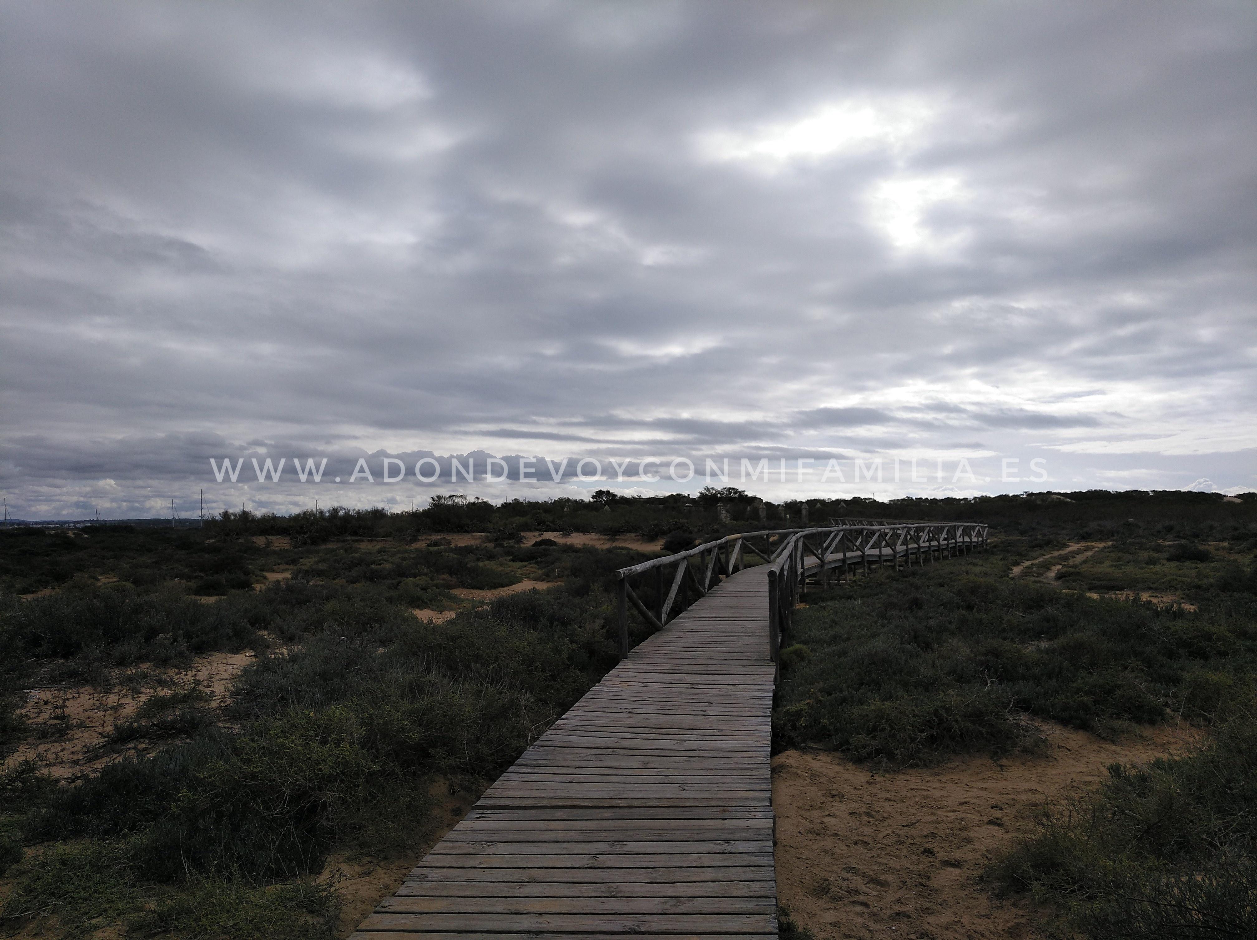 SENDERO PUNTA DEL BOQUERÓN   Parque Natural Bahía de Cádiz