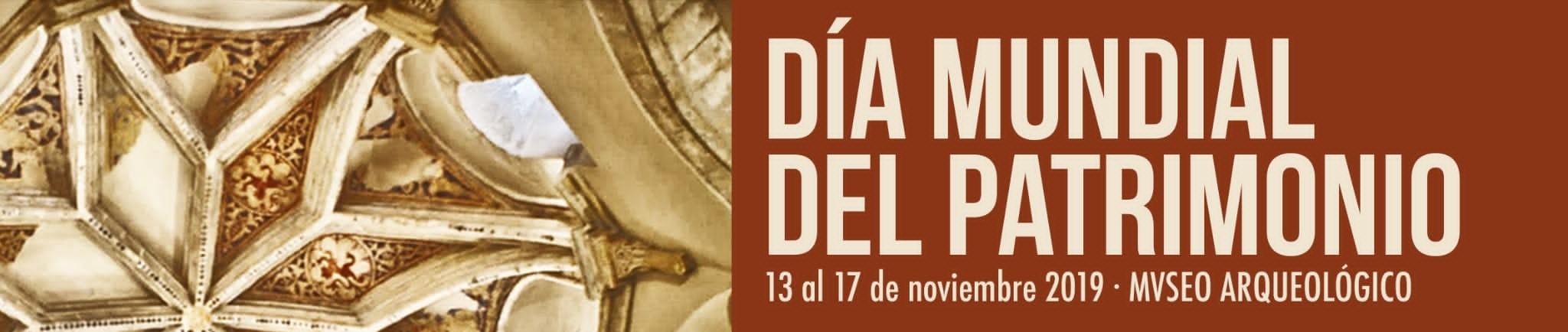 DÍA MUNDIAL DEL PATRIMONIO Familia con Niños (JEREZ) Del 13 al 17 de Noviembre de 2019