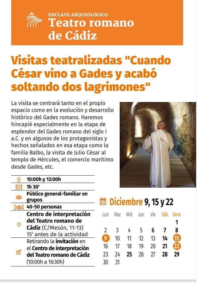 NAVIDEA 2019 (Navidad en Enclaves Arqueológicos) Familia con Niños (CÁDIZ)