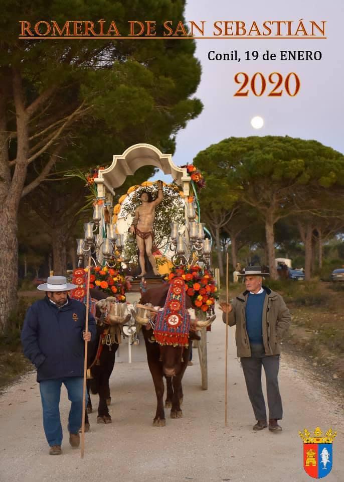 ROMERÍA DE SAN SEBASTIÁN Familia con Niños (CONIL) Domingo 20 de Enero de 2020