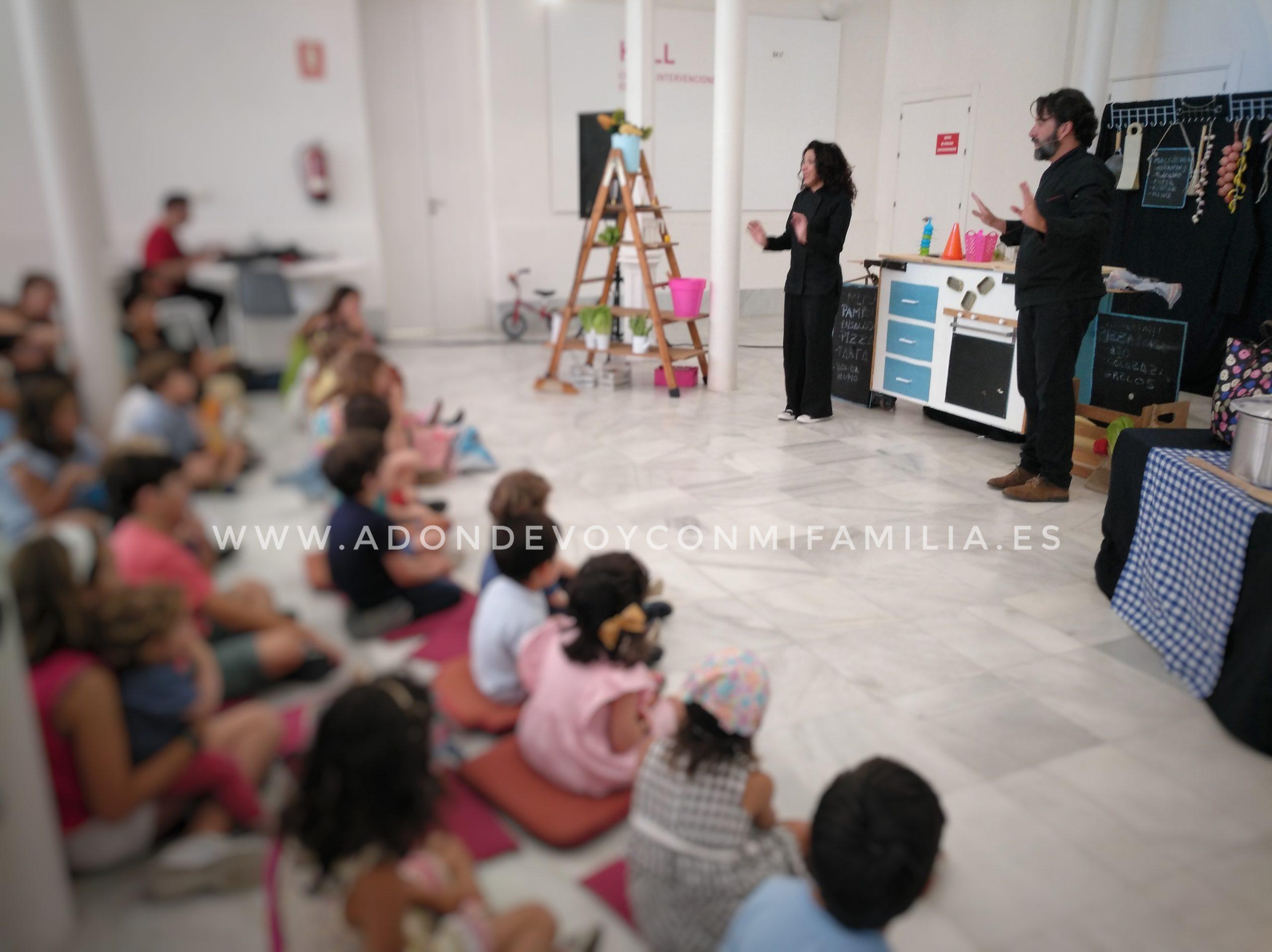 XXXVII FESTIVAL INTERNACIONAL DEL TÍTERE Familia con Niños (CÁDIZ)
