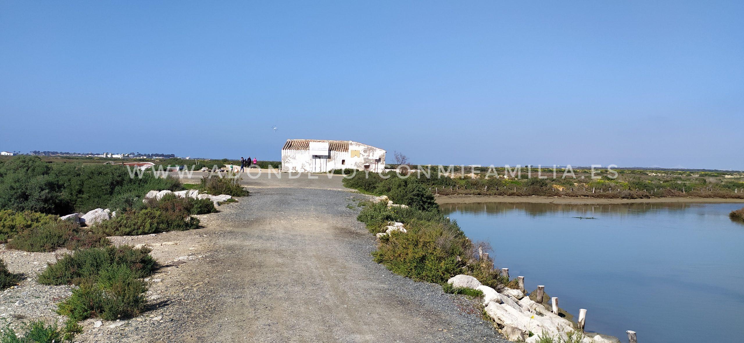 SENDERO SALINA DE CARBONEROS| Parque Natural Bahía de Cádiz