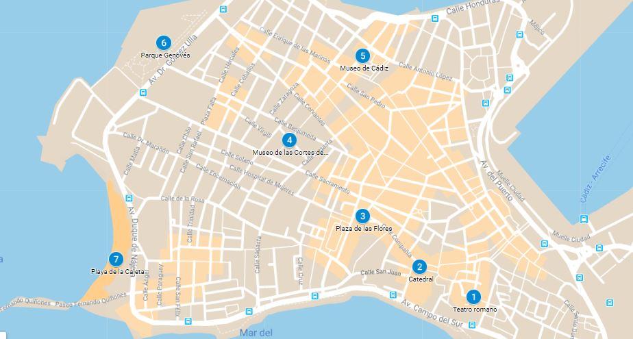 una ruta ideal por Cádiz con niños