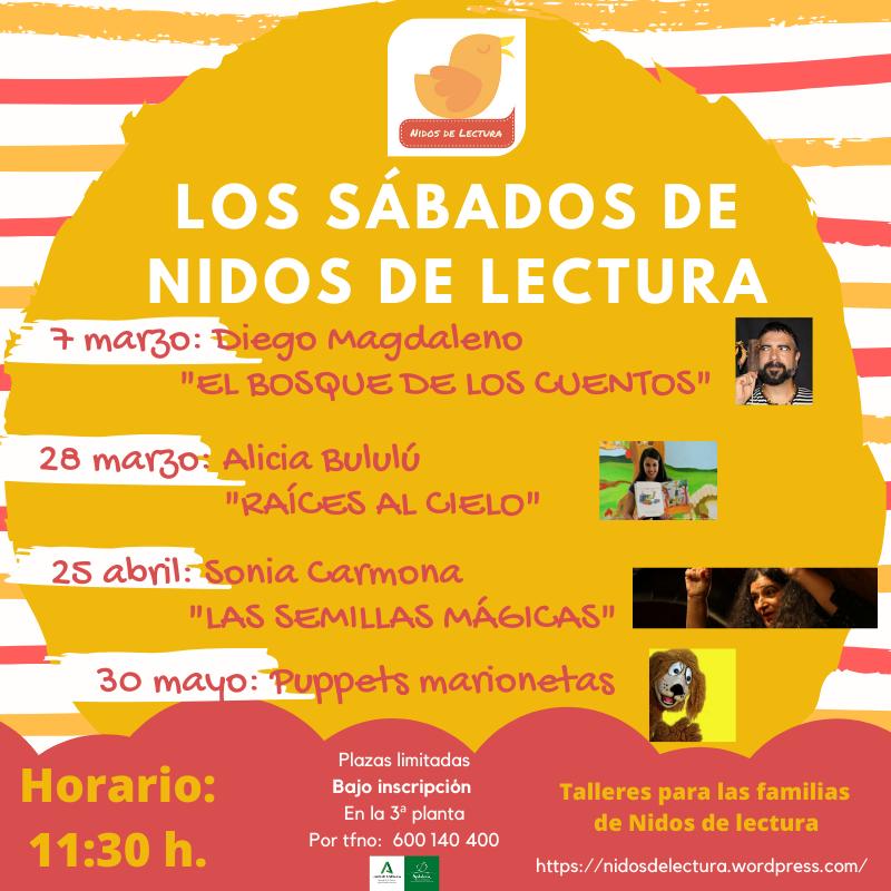 SÁBADOS DE CUENTOS Y TALLERES Biblioteca Pública Provincial de Cádiz
