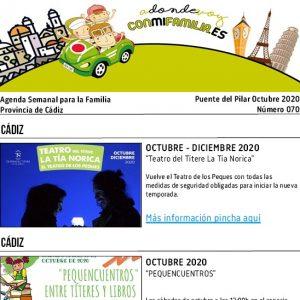 070 Puente del Pilar 2020 Agenda Semanal Familiar portada adondevoyconmifamilia