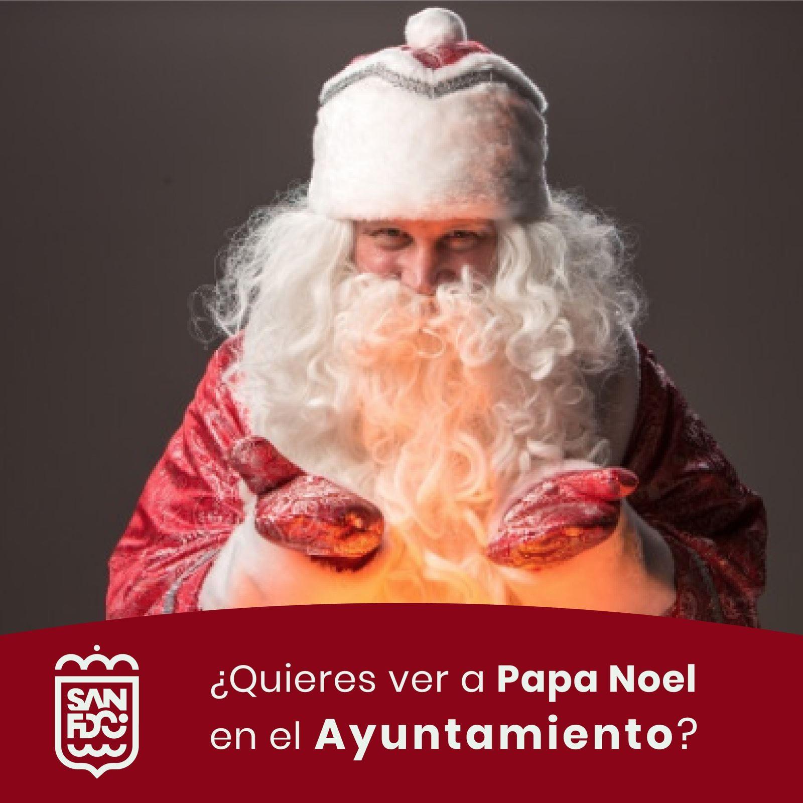 Papa Noel San Fernando Navidad 2020