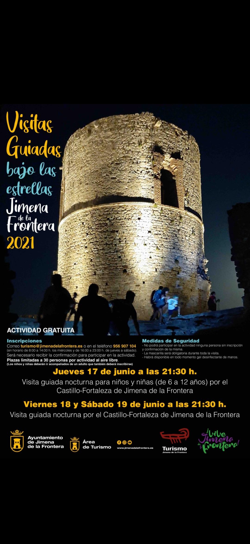 visita estrellas castillo jimena junio 2021