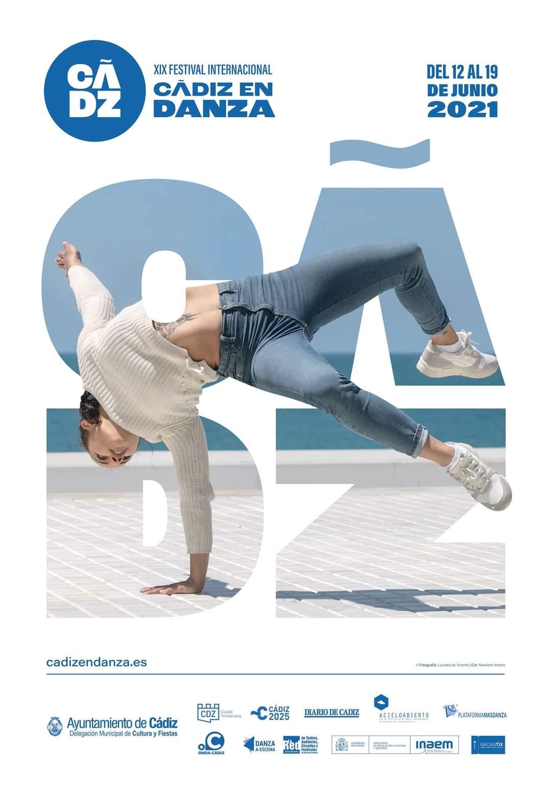 cartel cadiz en danza junio 2021