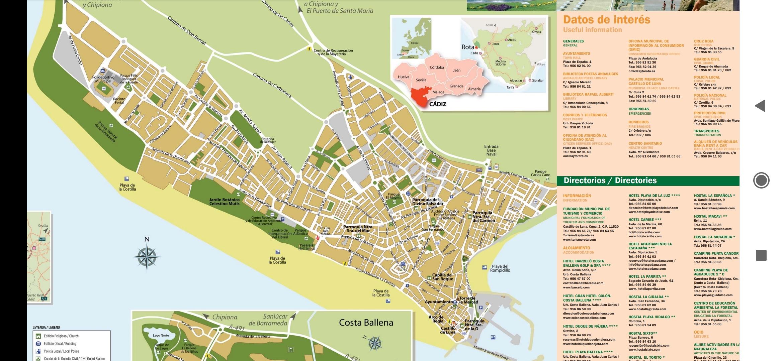 mapa turismo rota