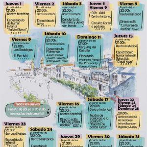actividades julio 2021 medina sidonia