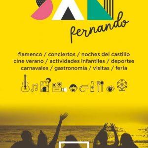 agenda verano san fernando 2021 cartel