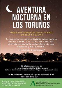 aventura nocturna los toruños actualizado
