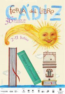 feria del libro 2 al 11 julio 2021 cadiz