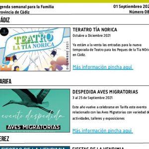 085 210901 Agenda Familiar 01 septiembre 2021 Adondevoyconmifamilia portada