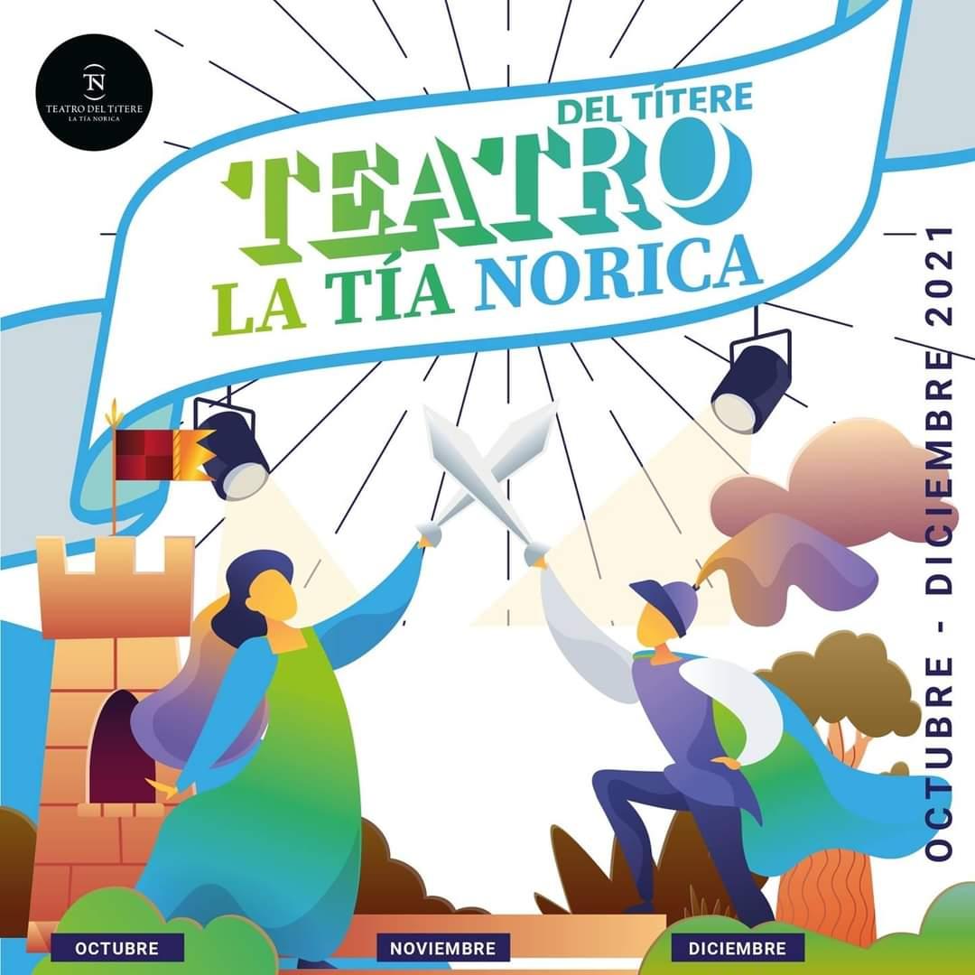 carte teatro tia norica octubre diciembre 2021