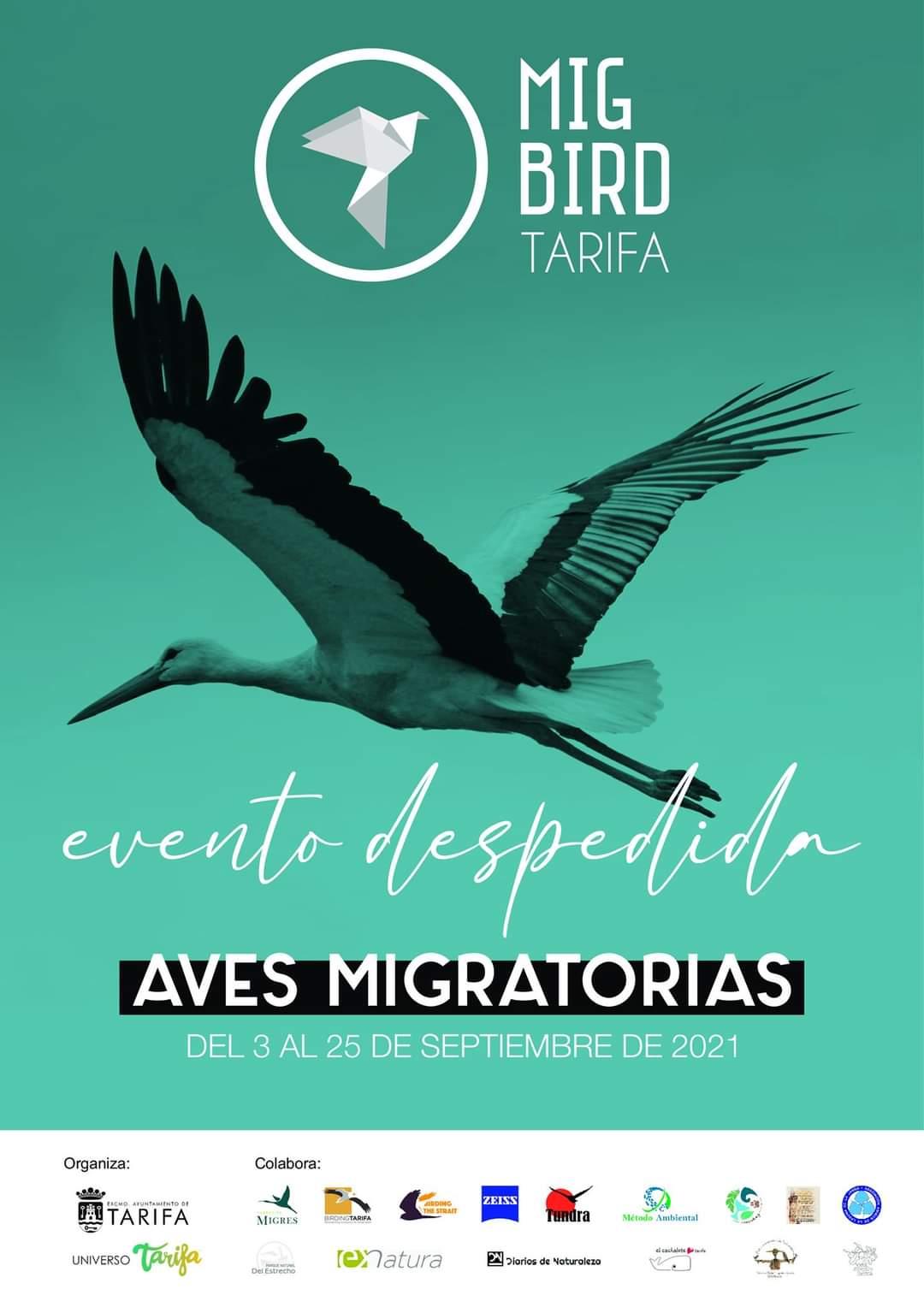 migbird aves migratorias despedida tarifa 2021