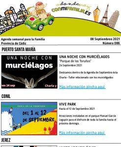 086 210908 Agenda Familiar 08 septiembre 2021 Adondevoyconmifamilia cartel