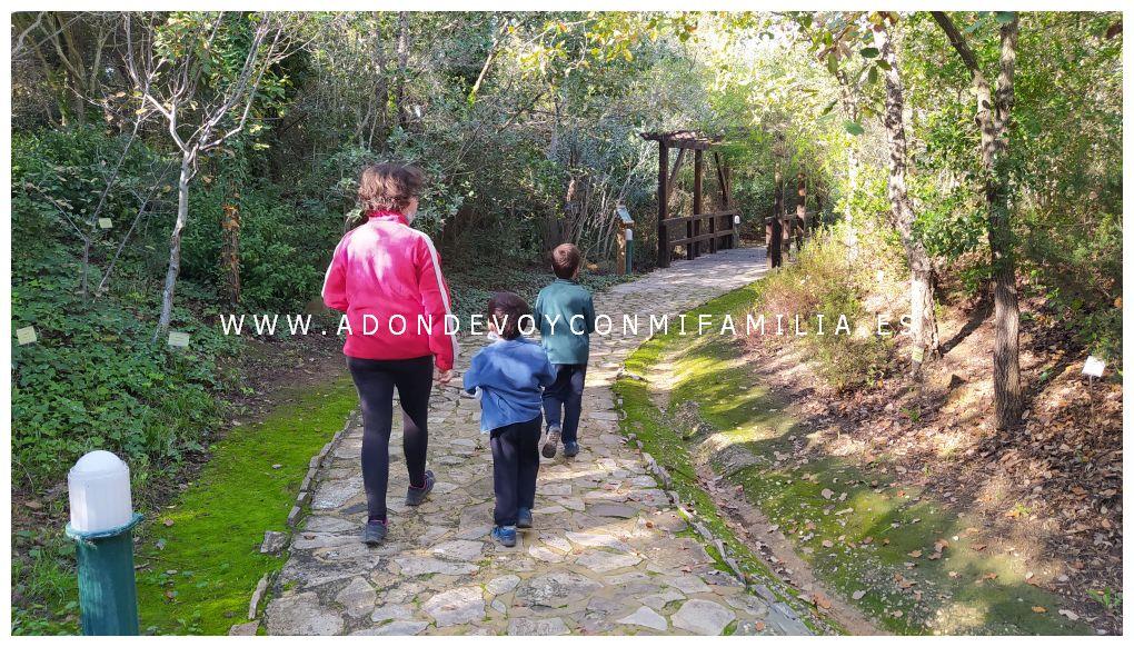 jardín botánico el aljibe alcala de los gazules adondevoyconmifamilia 03